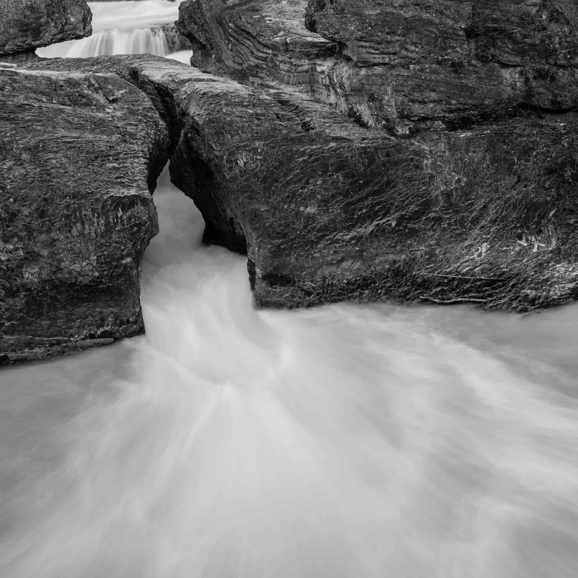 The Kicking Horse River Valley: Natural Bridge